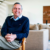 Portrait of Philanthropist John Bryan in his Crabb Tree Farm Estate