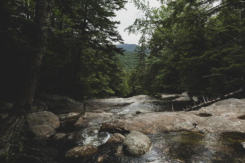 Summertime trip to New Hampshires White Mountains.