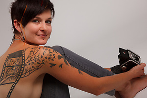 Becky, Tattoo + You, A Photo Story of Body Ink