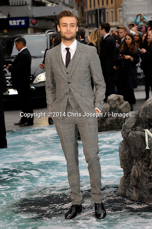 Douglas Booth arrives for the UK premiere of the film 'Noah', Odeon, London, United Kingdom. Monday, 31st March 2014. Picture by Chris Joseph / i-Images