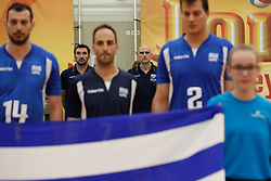 20170525 NED: 2018 FIVB Volleyball World Championship qualification, Koog aan de Zaan<br />Konstantinos Arseniadis, headcoach of Greece <br />©2017-FotoHoogendoorn.nl / Pim Waslander