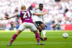 Free to use courtesy of Sky Bet. Ryan Sessegnon playes the ball through to Tom Cairney of Fulham who scores a goal to make it 0-1 - Rogan/JMP - 26/05/2018 - FOOTBALL - Wembley Stadium - London, England - Aston Villa v Fulham - Sky Bet Championship Play-Off Final.