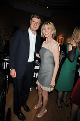ZAC GOLDSMITH and TRUDIE STYLER at fundraising dinner and auction in aid of Liver Good Life a charity for people with Hepatitis held at Christies, King Street, London on 16th September 2009.