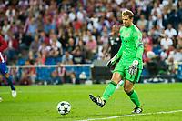 Bayern Munich's player Manuel Neuer during match of UEFA Champions League at Vicente Calderon Stadium in Madrid. September 28, Spain. 2016. (ALTERPHOTOS/BorjaB.Hojas)