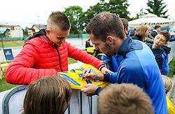Luka Zinko of Bravo after the football match between NK Domzale and NK Aluminij in 36th Round of Prva liga Telekom Slovenije 2020/21, on May 22, 2021 in Sportni park Domzale, Slovenia. Photo by Vid Ponikvar / Sportida