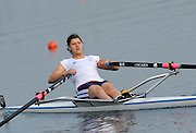 Eton, United Kingdom. Women's  Single Sculls,  Rebecca CHIN, at 2011 GBRowing Trials, Dorney Lake. Sunday  17/04/2011  [Mandatory Credit; Peter Spurrier/Intersport-images] Venue For 2012 Olympic Regatta and Flat Water Canoe events.