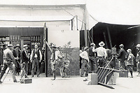 1913 Filming The Days of the Pony Express at Essanay Studios in Niles, CA