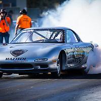 Brett Glover (2060) in his Mazda RX-7.