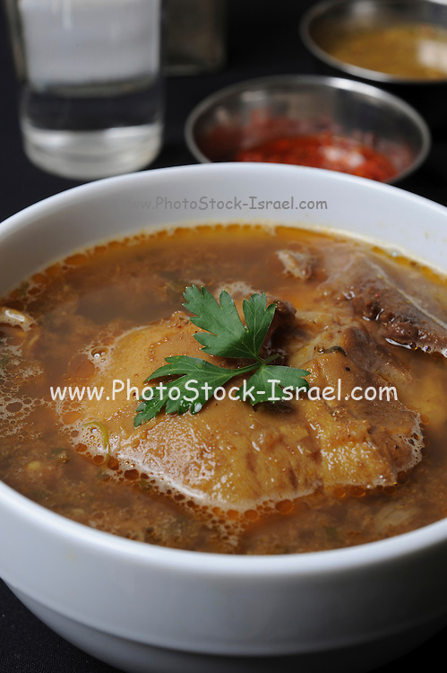 Yemenite Bone Soup