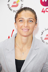 © Licensed to London News. Sara Errani, Pre-Wimbledon Party, Kensington Roof Gardens, London UK, 20 June 2013. Photo credit : Richard Goldschmidt/Piqtured/LNP