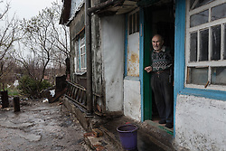 Pavlo Virienko, 86, is alone in caring for his frail elderly wife, Lydia, 86, and is scared to venture far from their home due to the recent fighting in the town. He recently fell and cut his face whilst trying to bring home food from a himanitarina food distribution. One of their daughters is able to visit once a week but their other daughter lives on the other side of the frontline in Ukraine and is blocked from visiting her parents due to the security restrictions.