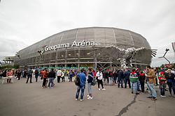 September 3, 2017 - Budapest, Hungary - Groupama Arena stadium during the FIFA World Cup 2018 Qualifying Round match between Hungary and Portugal at Groupama Arena in Budapest, Hungary on September 3, 2017  (Credit Image: © Andrew Surma/NurPhoto via ZUMA Press)
