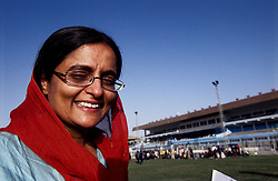 SPECIAL OLYMPICS AFGHANISTAN 2005..Kabul, 23 August 2005..Nilofar Akmut from SOA at Ghazi Stadium