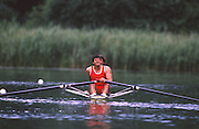 Lucerne, SWITZERLAND. RUS,        a M2X,  1988 Lucerne International Regatta, Lake Rotsee. June 1988 [Mandatory Credit - Peter Spurrier/Intersport Images] 1988 Lucerne International Regatta