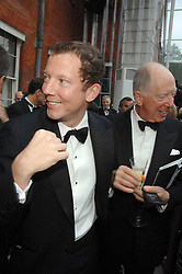 Left to right, the HON.NAT ROTHSCHILD and his father LORD ROTHSCHILD at the Ark 2007 charity gala at Marlborough House, Pall Mall, London SW1 on 11th May 2007.<br />