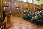 Jan 04, 2008 - Pristina, Kosovo, Serbia - SRSG JOACHIM RUCKER is speaking to Kosovo new Parliament members. (Credit Image: © Vedat Xhymshiti/ZUMA Press)