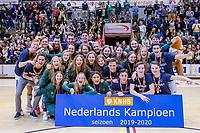 ROTTERDAM  -   finale NK  zaalhockey . Rotterdam en Pinoke A1 Nederlands kampioen.    COPYRIGHT  KOEN SUYK