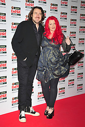 © under license to London News Pictures. 27/03/11. Jonathan Ross and Jane Goldman attends the Jamesons Empire Film Awards , Sunday 27th March 2011 at the Grosvenor House Hotel, Park Lane, London. Photo credit should read ALAN ROXBOROUGH/LNP
