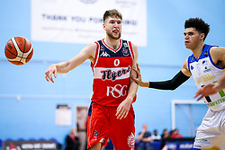 Mike Vigor of Bristol Flyers - Rogan/JMP - 13/10/2017 - BASKETBALL - SGS Wise Arena - Bristol, England. - Bristol Flyers v Cheshire Pheonix - BBL Cup.