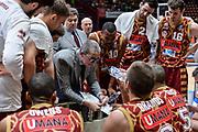 DESCRIZIONE : Beko Final Eight Coppa Italia 2016 Serie A Final8 Quarti di Finale Olimpia EA7 Emporio Armani Milano - Umana Reyer Venezia<br /> GIOCATORE : Walter De Raffaele<br /> CATEGORIA : Allenatore Coach Time Out<br /> SQUADRA : Umana Reyer Venezia<br /> EVENTO : Beko Final Eight Coppa Italia 2016<br /> GARA : Quarti di Finale Olimpia EA7 Emporio Armani Milano - Umana Reyer Venezia<br /> DATA : 19/02/2016<br /> SPORT : Pallacanestro <br /> AUTORE : Agenzia Ciamillo-Castoria/L.Canu