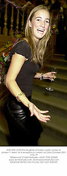MISS MIKI JORDAN daughter of Eddie Jordan owner of Jordan F1 team, at a reception in London on 22nd October 2001.	OTG 79