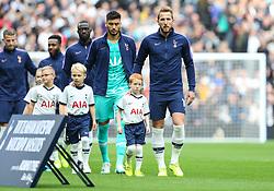 Harry Kane of Tottenham Hotspur leads the team out - Mandatory by-line: Arron Gent/JMP - 19/10/2019 - FOOTBALL - Tottenham Hotspur Stadium - London, England - Tottenham Hotspur v Watford - Premier League