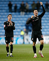 Photo: Steve Bond/Sportsbeat Images.<br />Coventry City v West Bromwich Albion. Coca Cola Championship. 12/11/2007. Bostjan Cesar (R) Zoltan Gera (L) celebrate at the final whistle