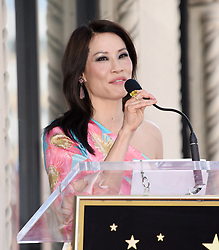 Lucy Liu at her Hollywood Walk of Fame star ceremony on May 1, 2019 in Hollywood, CA. 01 May 2019 Pictured: Lucy Liu. Photo credit: Janet Gough / AFF-USA.COM / MEGA TheMegaAgency.com +1 888 505 6342