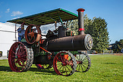 Steam tractor at Western Antique Aeroplane and Automobile Museum.