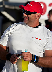 Craig Monk, Race day 8, first day of the elimination round. Artemis (SWE) versus Azzurra (ITA). Auckland, New Zealand, March 17th 2010. Louis Vuitton Trophy  Auckland (8-21 March 2010) © Sander van der Borch / Artemis