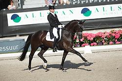 Gal Edward, (NED), Glock's Undercover<br /> Kingsley Donadeo Grand Prix<br /> Dutch Championship Dressage - Ermelo 2015<br /> © Hippo Foto - Dirk Caremans<br /> 17/07/15