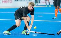 LUCKNOW (India) -   Junior World Cup hockey  U21 for men .  MALAYSIA v NEW ZEALAND  (place 9-12 ). Sam Lane (NZL) COPYRIGHT  KOEN SUYK