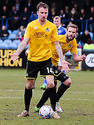 Bristol Rovers' Chris Lines in action - Photo mandatory by-line: Neil Brookman/JMP - Mobile: 07966 386802 - 28/03/2015 - SPORT - Football - Macclesfield - Moss Rose - Macclesfield Town v Bristol Rovers - Vanarama Football Conference