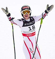 11-02-2011 SKIEN: FIS ALPINE WORLD CHAMPIONSSHIP: GARMISCH PARTENKIRCHEN<br />  Elisabeth Goergl (AUT) during ladies Supercombis<br /> **NETHERLANDS ONLY**<br /> ©2011-WWW.FOTOHOOGENDOORN.NL/EXPA/ J. Groder