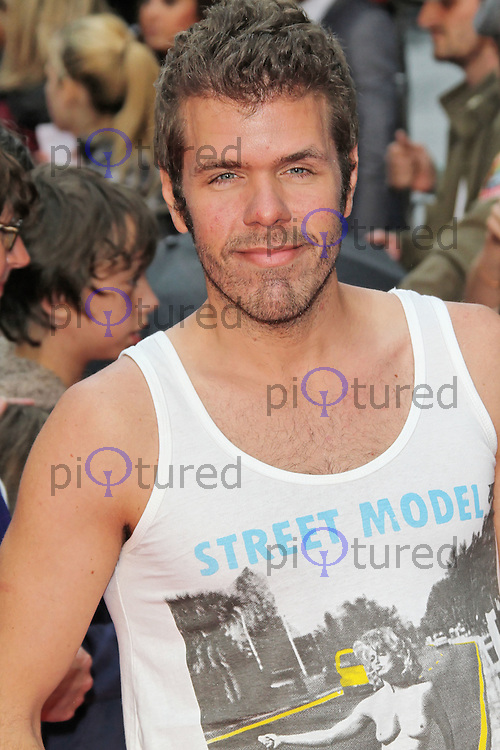 LONDON - JULY 03: Perez Hilton attended the European Film Premiere of 'Katy Perry: Part Of Me' at the Empire Cinema, Leicester Square, London, UK. July 03, 2012. (Photo by Richard Goldschmidt)