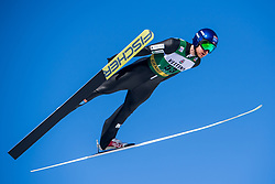 March 2, 2018 - Lahti, FINLAND - 180302 JÂ¿rgen Graabak of Norway during a Ski jumping training session ahead of the FIS Nordic Combined World Cup on March 02, 2018 in Lahti. .Photo: Fredrik Varfjell / BILDBYRN / kod FV / 150068 (Credit Image: © Fredrik Varfjell/Bildbyran via ZUMA Press)