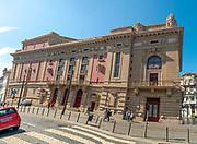 Teatro Nacinal Sao Joao, (São João National Theater) Praca da Batalha, Porto Portugal