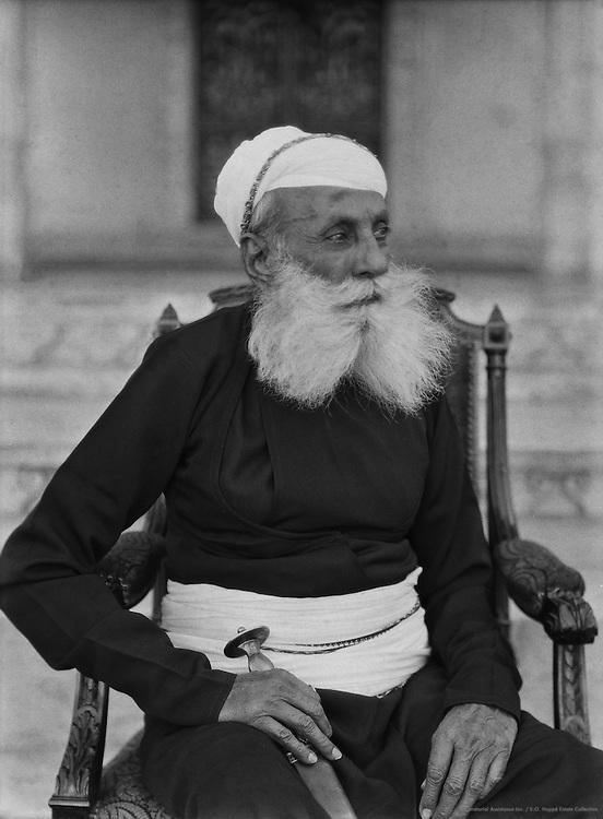 Maharaja of Udaipur, India, 1929