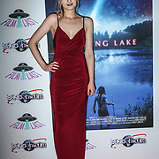 London, England, UK. 14th September 2017.Cast Veronica Osimani attend the Landing Lake Film Premiere at Empire Haymarket,London, UK.