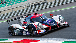 The UNITED AUTOSPORTS #3 car driven by Anthony WELLS, Garret GRIST and Matthew BELL, placed third in LPM3 class at the ELMS 4 hours of Monza 2018, here at Parabolica turn.