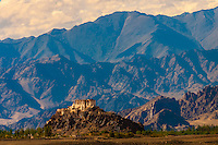 Stakna Monastery, Leh Valley,  Ladakh; Jammu and Kashmir state, India.