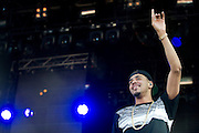 J. Cole performs at Suburbia Fest in Plano, Texas on May 4, 2014.