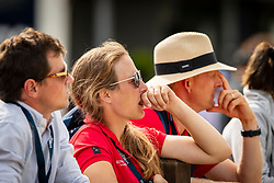 De Liedekerke Lara, BEL, Meier Kai Steffen, GER, Desmedt Jef, BEL<br /> European Championship Eventing<br /> Luhmuhlen 2019<br /> © Hippo Foto - Dirk Caremans