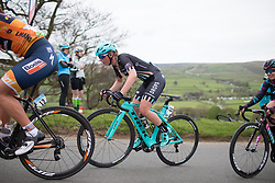 Alice Barnes (GBR) of Drops Cycling Team climbs up the Cote de Lofthouse during the Tour de Yorkshire - a 122.5 km road race, between Tadcaster and Harrogate on April 29, 2017, in Yorkshire, United Kingdom.
