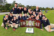 Royal Dublin winners of the AIG barton Shield final at the AIG Cups & Shields National Finals, Carton House, Maynooth, Co Kildare.<br /> Picture Golffile | Fran Caffrey