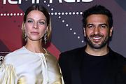 Jessica Schwarz und Elyas M'Barek auf dem Roten Teppich anlässlich der Verleihung des 41. Bayerischen Filmpreises 2019 am 17.01.2020 im Prinzregententheater München.