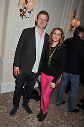 PIPS TAYLOR and TOM HAMILTON at the launch of Whole World Water at The Savoy Hotel, London on 22nd March 2013.