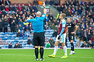 VAR - rules no penalty during the The FA Cup 3rd round match between Burnley and Barnsley at Turf Moor, Burnley, England on 5 January 2019.
