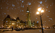 Parliament Hill is seen during a snowstorm in Ottawa on Wednesday, March 9, 2011. THE CANADIAN PRESS/Sean Kilpatrick