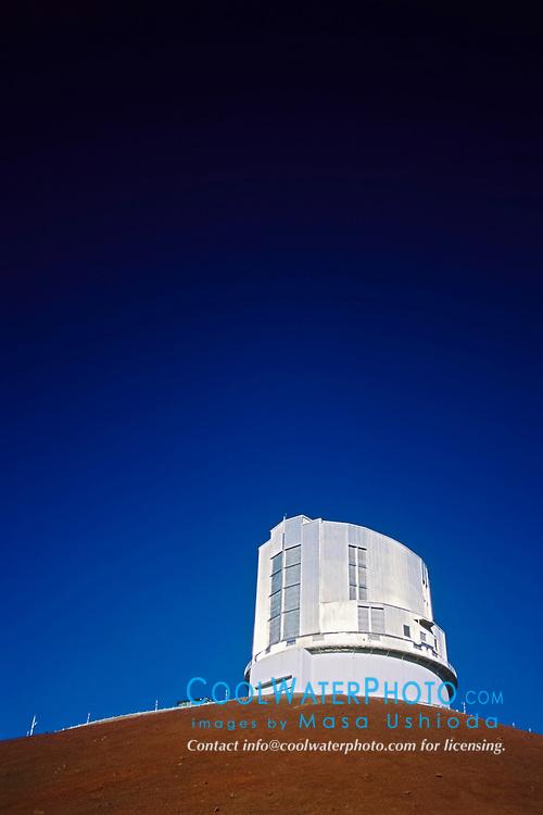 Subaru Telescope, National Astronomical Observatory of Japan, Mauna Kea Observatories, Mauna Kea summit, Big Island, Hawaii, USA